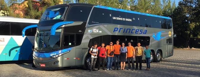 MOB confere novos micros e rodoviários da Princesa