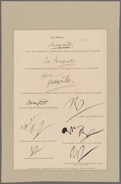 le firme di napoleone
