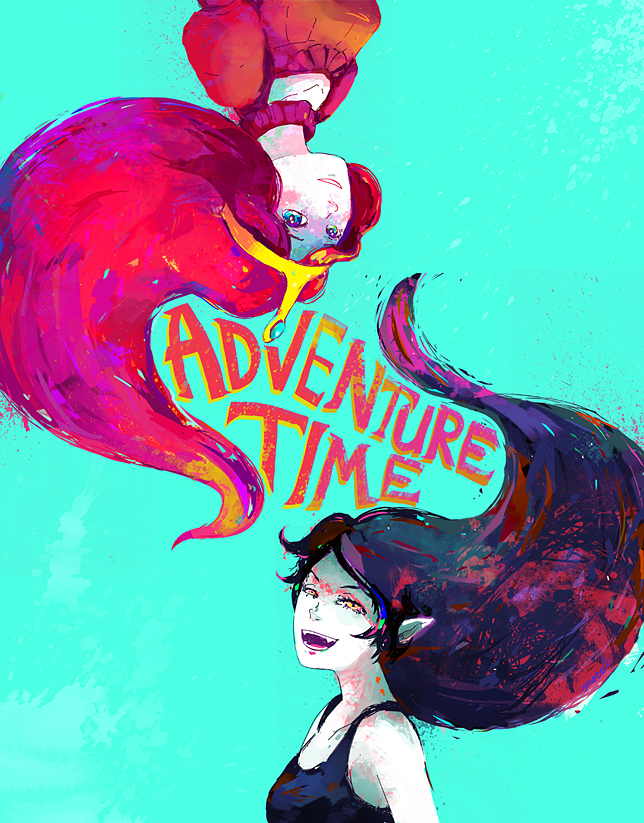 What if adventure time was a 3d anime swords