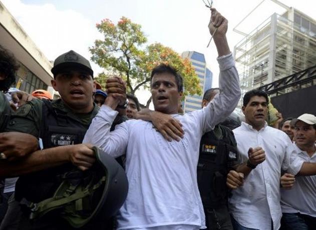 El opositor venezolano Leopoldo López lleva 12 días aislado como castigo