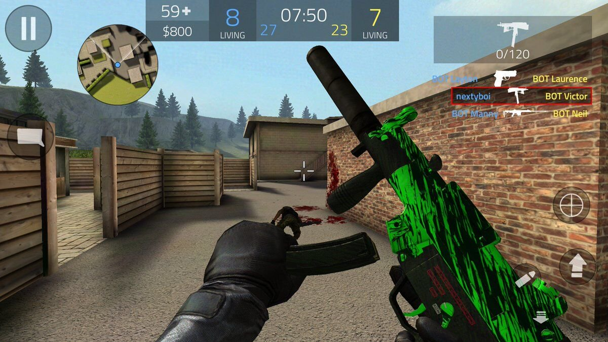 Download Forward Assault Full MOD, enemy on mini map free For
