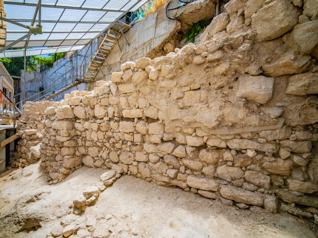 Newfound sections 'prove' ancient wall protected Jerusalem's east flank