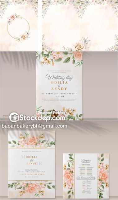 vector wedding free