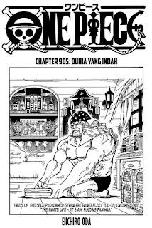 Update! Baca Manga One Piece Chapter 905 Full Sub Indo