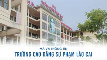 Mã và thông tin Trường Cao đẳng Sư phạm Lào Cai