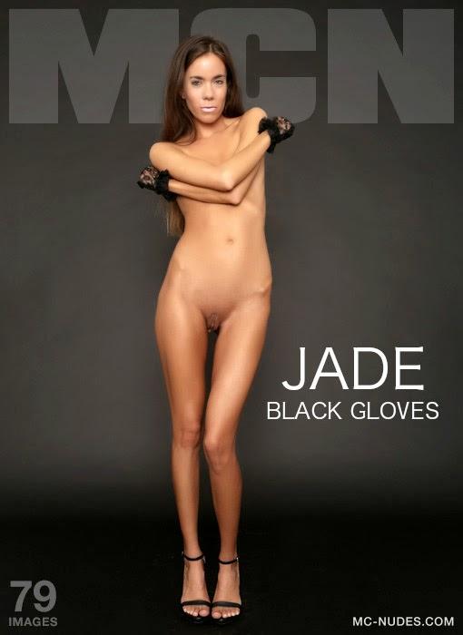 Vwp-Nudea5-30 Jade - Black Gloves 07110