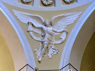 Sculpture representing an angel, San Benedetto church, Livorno