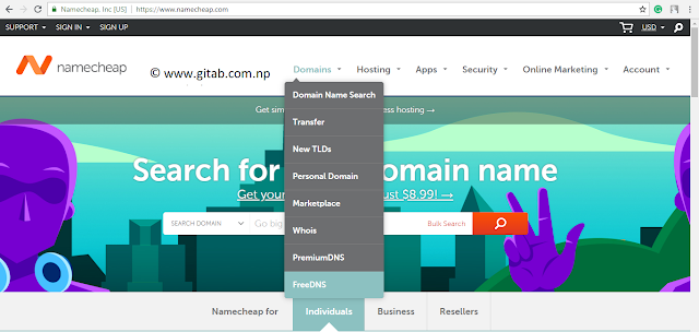 Free Setup .np Domain with Blogger and Namecheap DNS