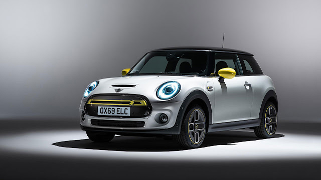 The new Mini Electric Car