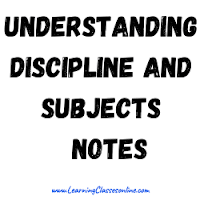 Understanding Discipline and Subjects Notes download free PDF in English Medium and Language for B.Ed, b ed, bed, b-ed, 1st, 2nd,3rd, 4th, 5th, 6th, first, second, third, fourth, fifth, sixth semester year student teachers teaching