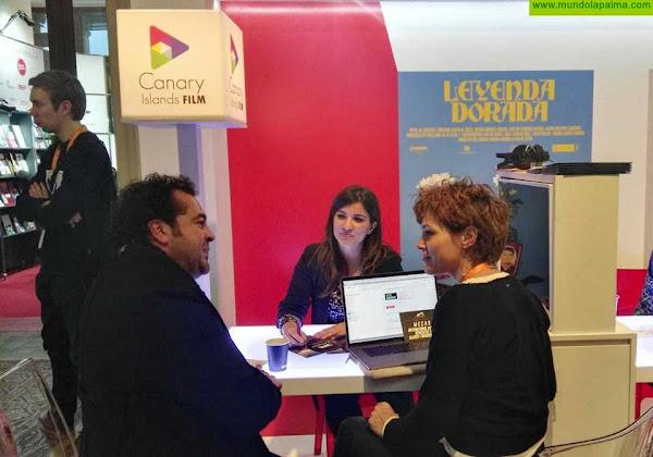 Sodepal participa a través de La Palma Film Commission en el Mercado de Cine de Berlín