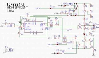 TDA7294 + Stepper High Efficient Amplifier
