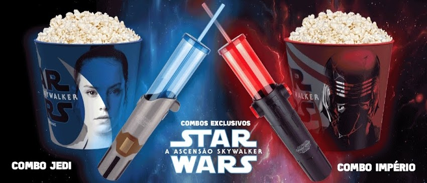 [ Cinemark ] Combos Star Wars custam um rim