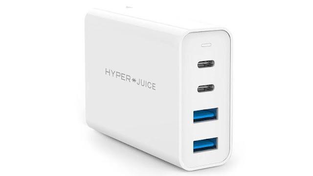7. HyperJuice GaN 100W USB-C Charger