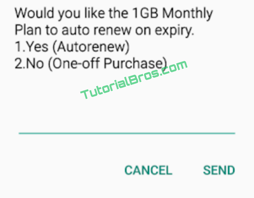 Getting the MTN 1GB data for just N100 with 30 days validity is really, really cheap and everyone will love to benefit from it,