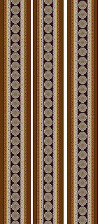 Traditional Textile Design Border 2732