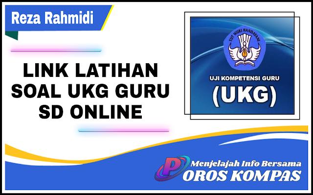 Link Latihan Soal UKG Guru SD Terbaru