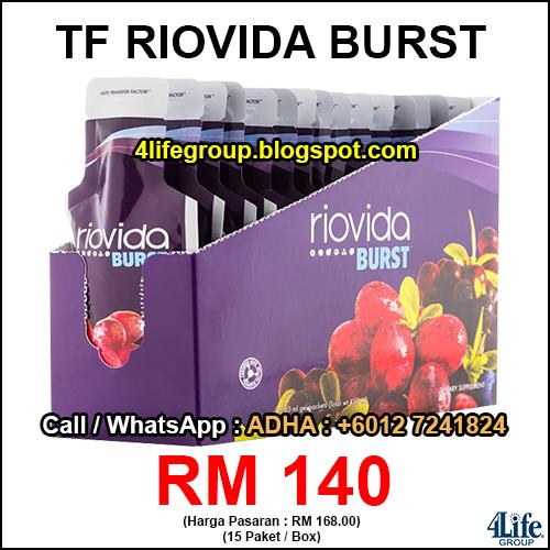 foto 4Life Transfer Factor Riovida Burst