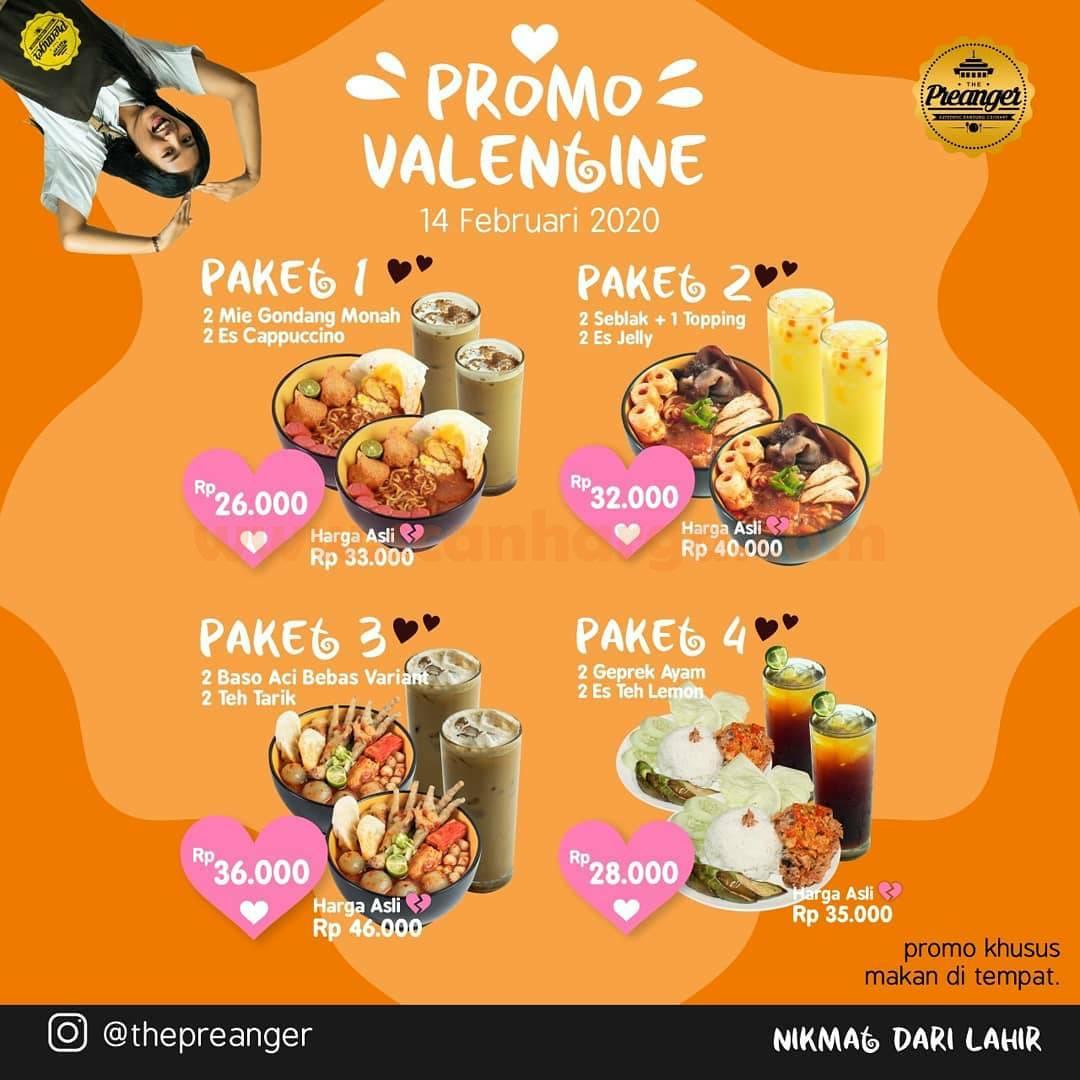Seblak Preanger Promo Paket Valentine! harga mulai Rp 26K