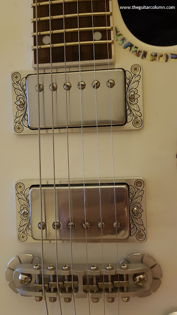 Zemaitis A24SU White Pearl Diamond Dragon Classic pickups