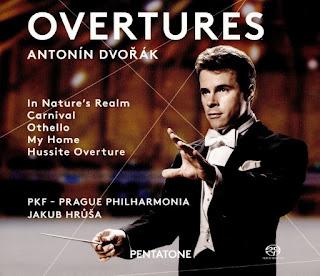 Dvorak Overtures - Jakub Hrůša, Prague Philharmonia - Pentatone