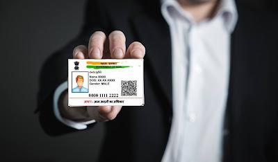 aadhaar card reprint