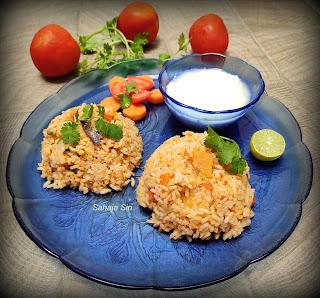 Tomato Rice Bhath