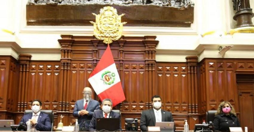 CONGRESO DE LA REPÚBLICA: Pleno debatirá hoy pedido de vacancia presidencial