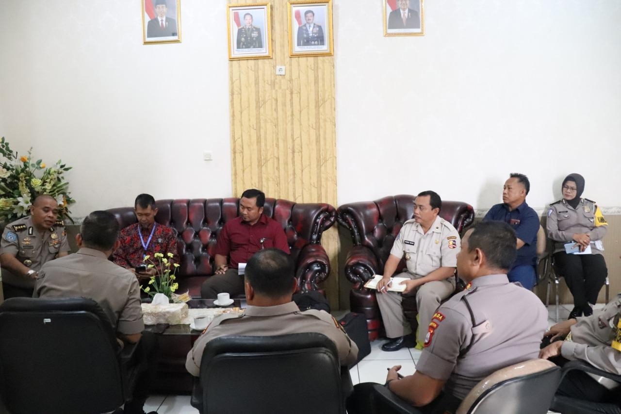 Puslitbang Polri melaksanakan Uji Kelayakan Kendaraan Patroli R4 Polda Banten