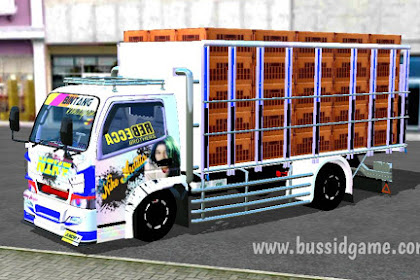 Mod Truck Canter FE74 Muat Ayam By Andryy