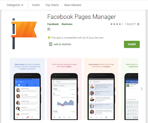 Page Managers via HP Android