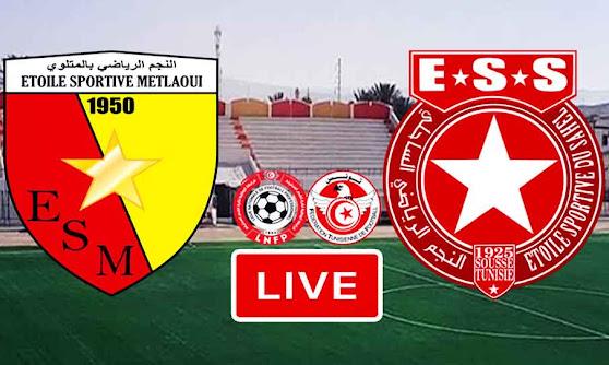 Match ES Metlaoui VS Etoile De Sahel Live Stream