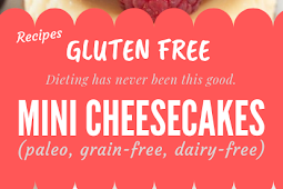 Mini Cheesecakes (grain-free, Gluten free) #glutenfree