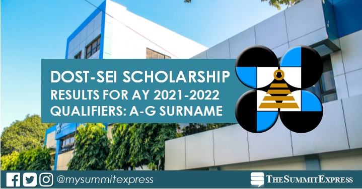 A-G Passers: 2021 DOST Scholarship Results