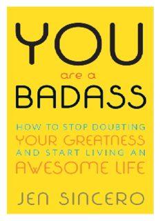 You Are a Badass Book Pdf