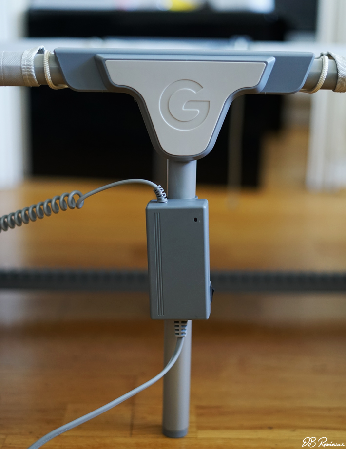 Gtech MYO Touch Massaging Bed - The power unit