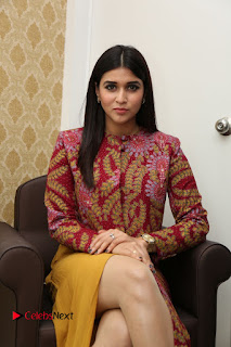 Actress Mannara Chopra Pictures at Natural Salon Launch 0096