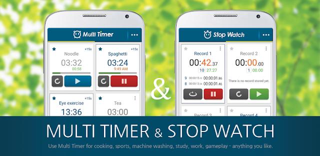 قم بتنزيل Multi Timer StopWatch Premium 2.6.6-build-260 - متعدد الوظائف ومؤقت قوي لنظام الاندرويد