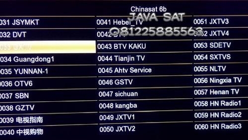chinasat-6b-daftar-siaran