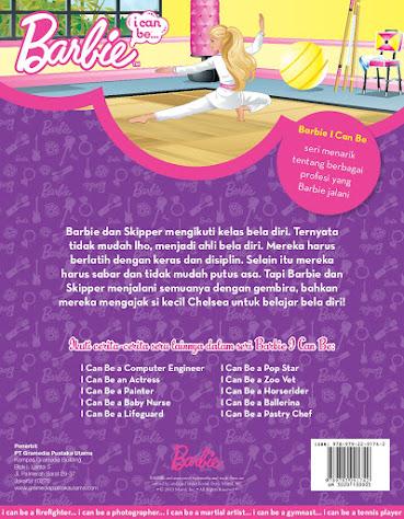daftar seri buku barbie i can be