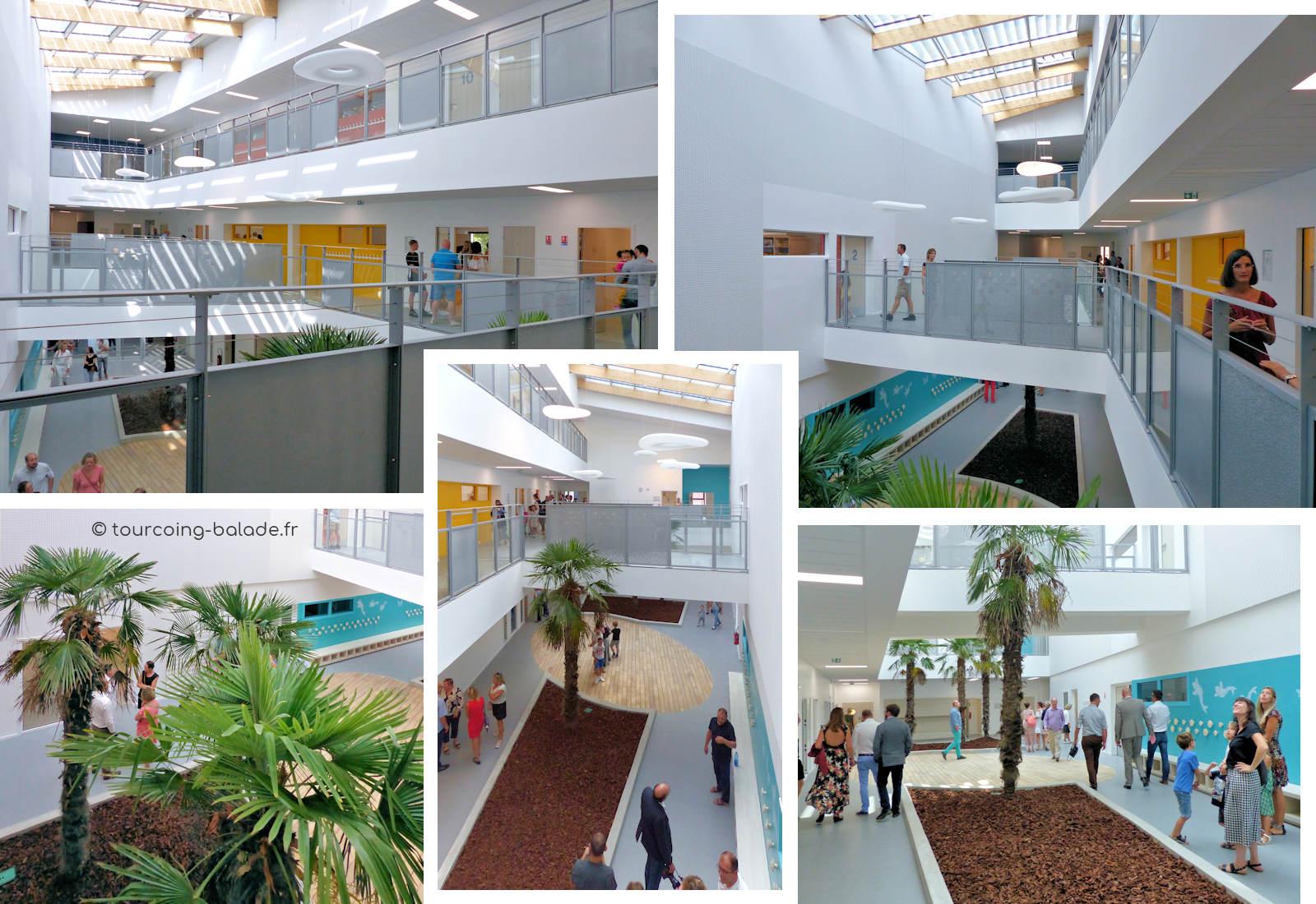École Charles de Gaulle, Tourcoing - Atrium