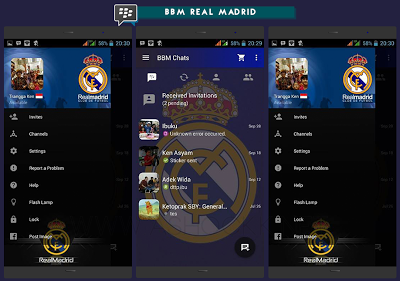 Download BBM MOD Real Madrid V3.0.0.18 Terbaru 2016