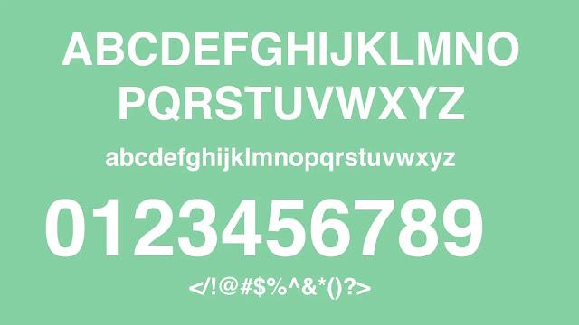 Helventica-free-fonts