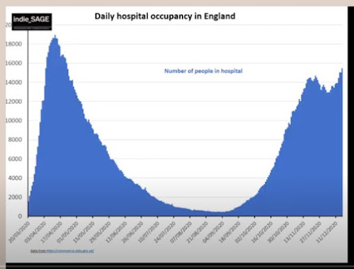 181220 dail hospital occupancy ENgland indieSAGE