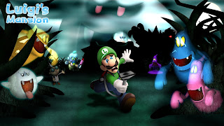 Luigi's Mansion Cover Wallpaper