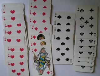 Karetní domino - Příklad hry