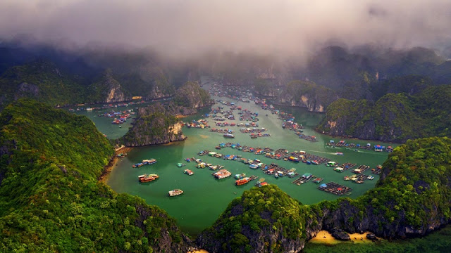 Ha Long Bay, Cat Ba - Nature Masterpiece Seen From The Sky 5