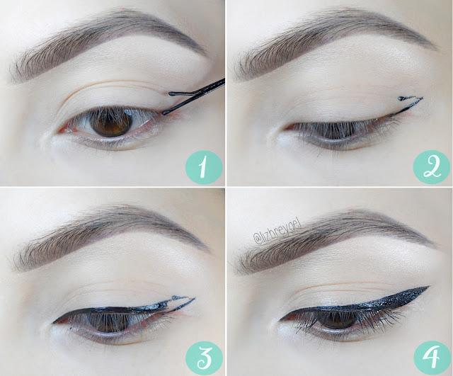 liz breygel makeup eyeliner styles bobby pin makeup tutorial step by step pictures