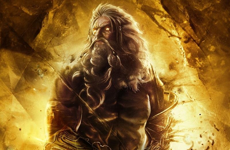 Zeus Deus Grego do Trovão e Rei Dos Deuses