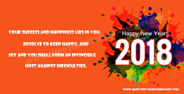 Happy New Year 2018 love Messages
